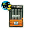 Jakemy JM-TP025 9 pcs Cross Bit Set 100 mm PH2