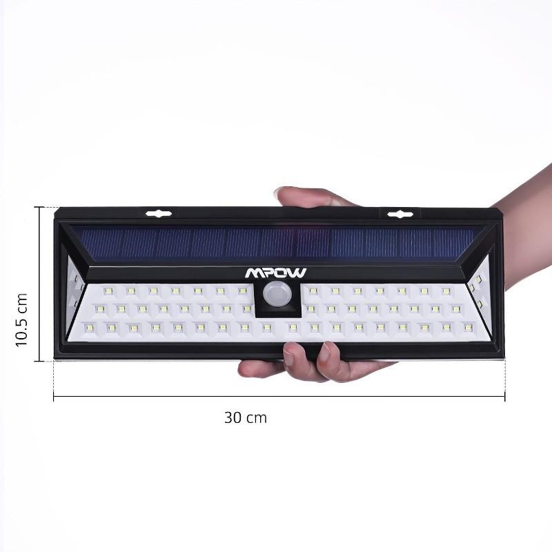 Aplique LED Solar Mpow con Sensor Movimiento MPCD020AB - Ítem2