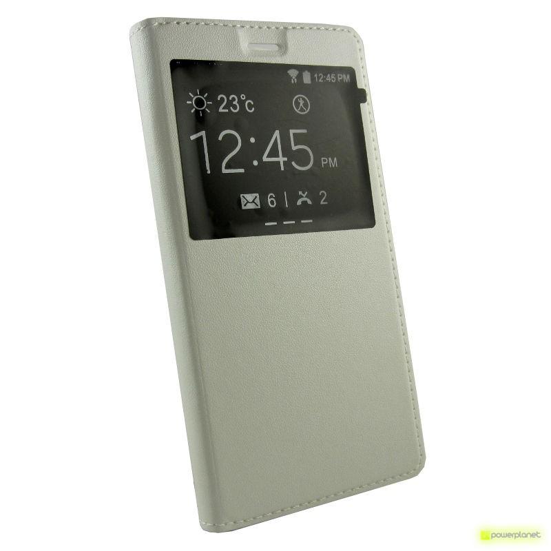 Caso tipo livro com janela Huawei P9 Lite - Item1