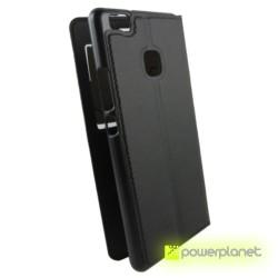 Caso tipo livro com janela Huawei P9 Lite - Item2