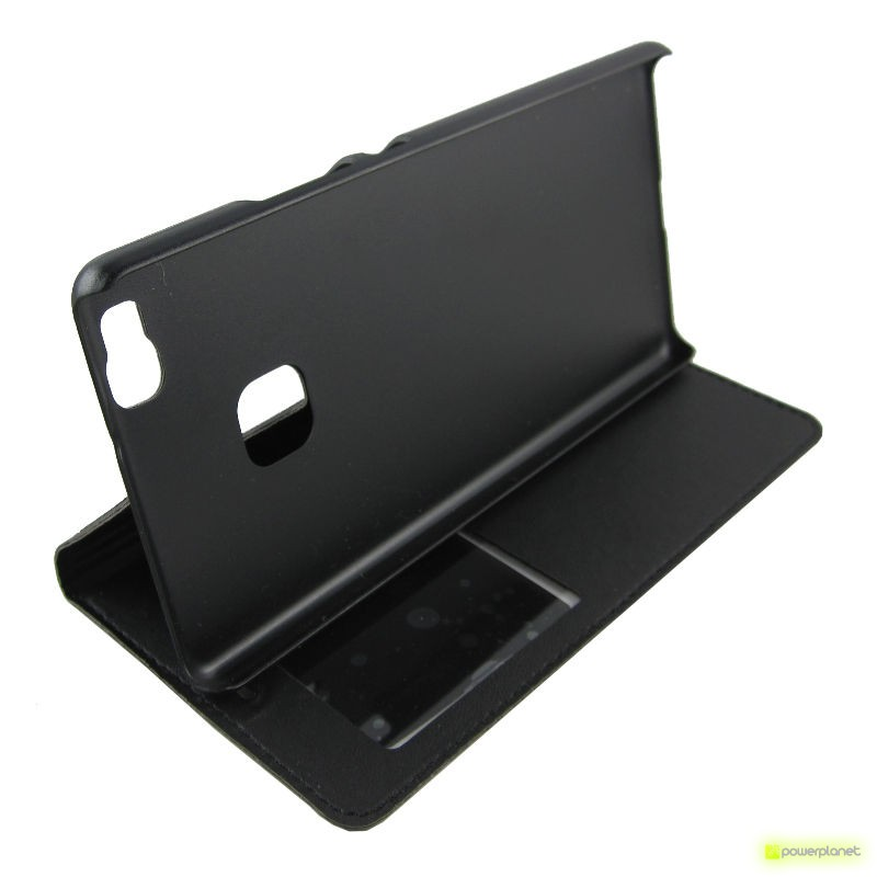 Caso tipo livro com janela Huawei P9 Lite - Item3