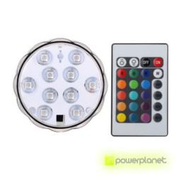 Luz LED submersível RGB - Item1