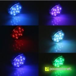 Luz LED submersível RGB - Item2