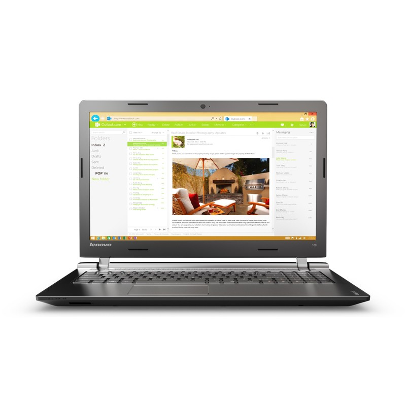 Portátil Lenovo Ideapad 100-15IBD i3-5005U/4GB/1TB/15.6 - Ítem1