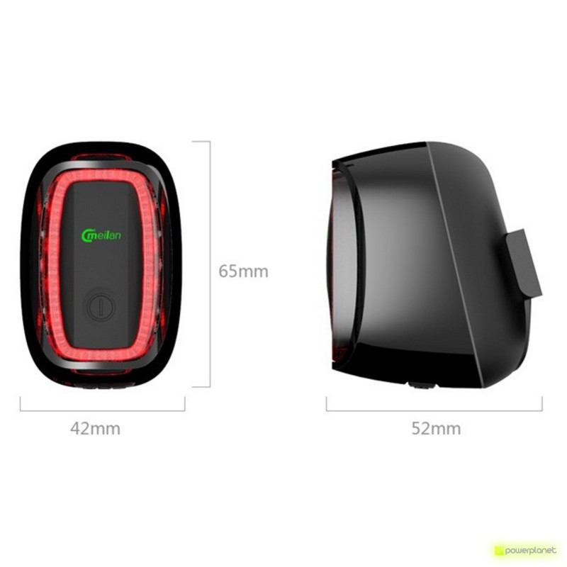 Meilan X6 Smart Bike Tail LED - Item4