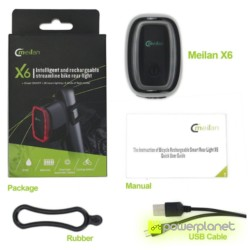 Meilan X6 Smart Bike Tail LED - Item5