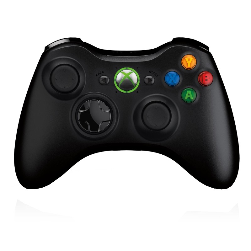 Microsoft Xbox 360 Wireless Controller black - Ítem1