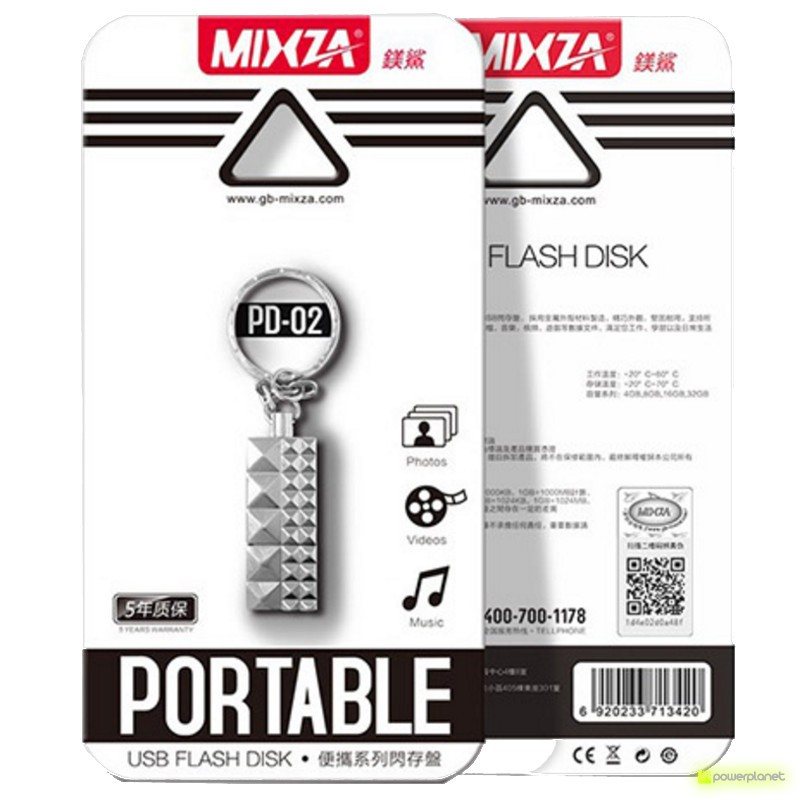 Mixza USB 2.0 128GB PD-02 - Item4