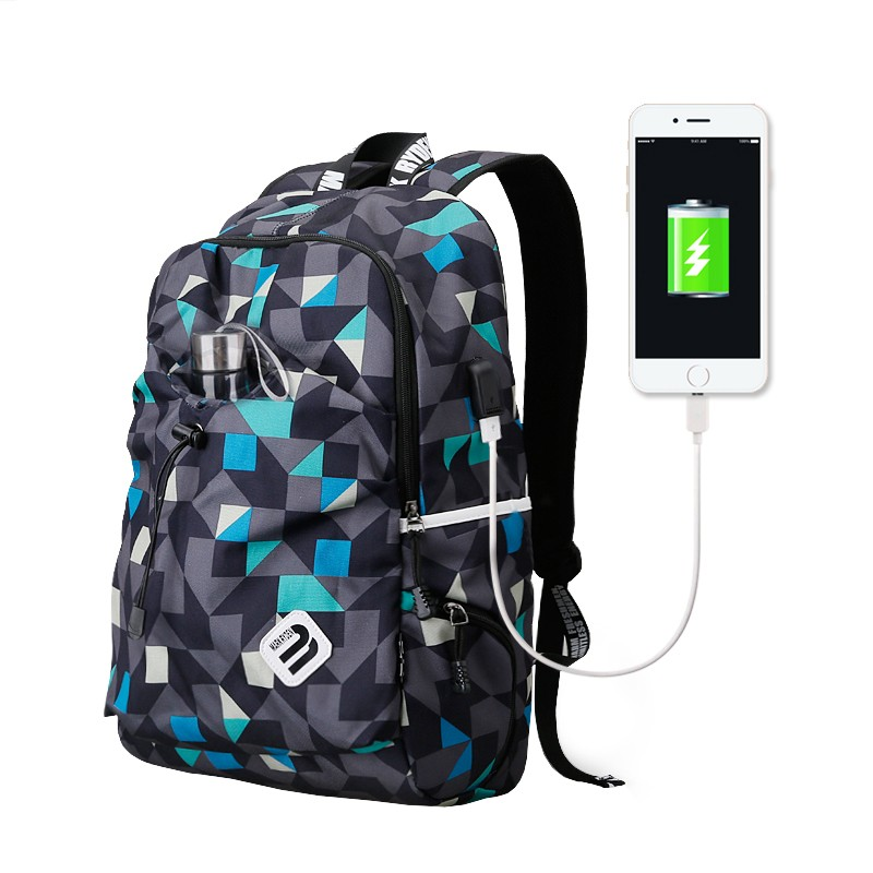 Mochila USB Mark Ryden Blue Cube MR6008