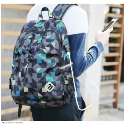 Mochila USB Mark Ryden Blue Cube MR6008 - Item1