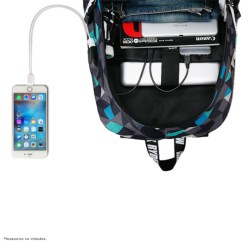 Mochila USB Mark Ryden Blue Cube MR6008 - Item2