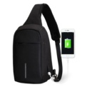 Mochila USB Mark Ryden Crossbody Preto MR5898