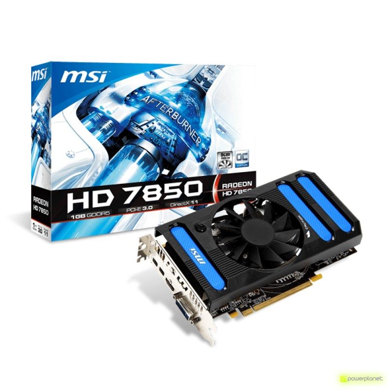 MSI HD7850 1GB GDDR5 - Ítem1