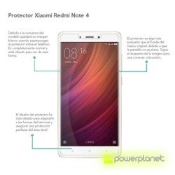 Protector Cristal Templado Xiaomi Redmi Note 4 - Ítem1