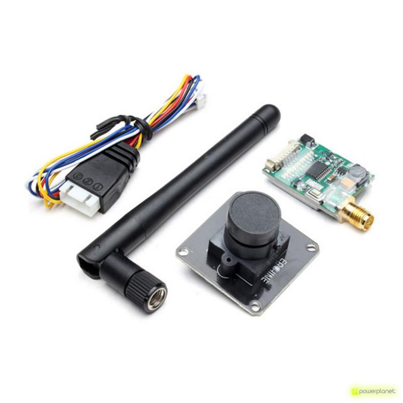 Transmissor FPV ET600 + Câmera 700TVL