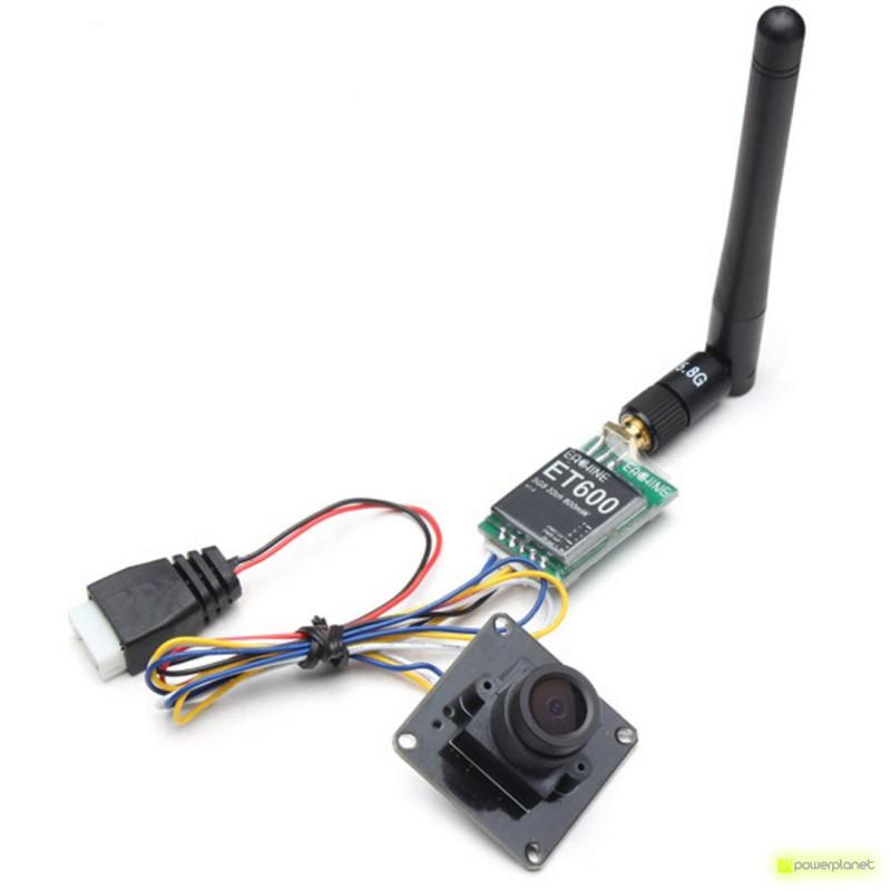 Transmissor FPV ET600 + Câmera 700TVL - Item2