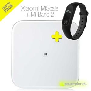 Pack Xiaomi Mi Band 2 + Xiaomi Mi Scale