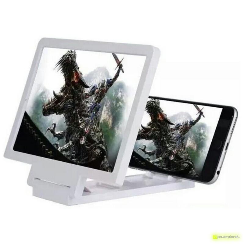 Ecrã lupa para smartphone