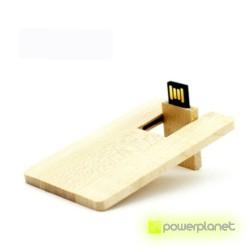 Memoria USB 8GB Wood Card - Ítem1
