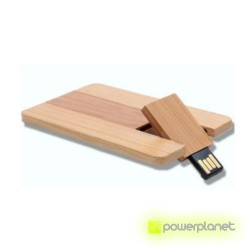 Memoria USB 8GB Wood Card - Item2