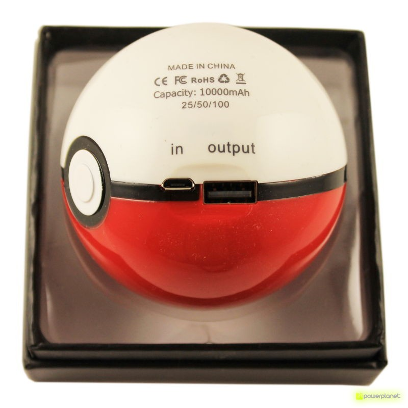 Power Bank Pokeball 10000 mAh - Ítem3