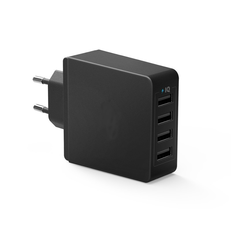 Cargador 4 puertos USB EU/UK