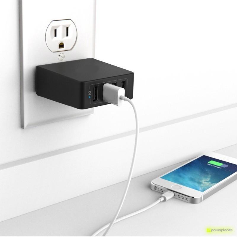Cargador 4 puertos USB EU/UK - Ítem2