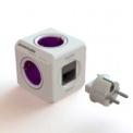 PowerCube ReWirable 5 tomas + 4 adaptadores de corriente