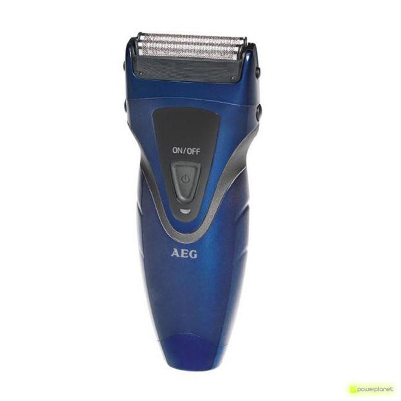 AEG Barbeador Azul