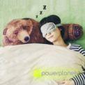 Travesseiro abraço de urso