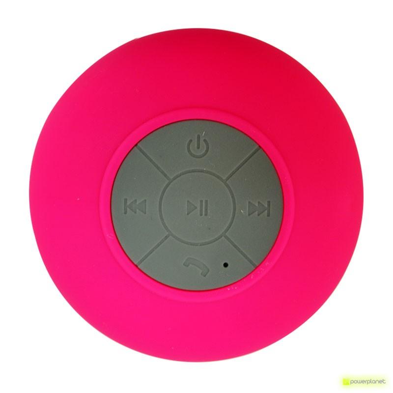 Alta-vozes Bluetooth Banho impermeável com Ventosa mãos livres BTS-06