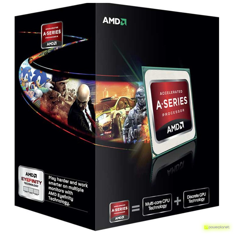 AMD A series A6-5400K - Item