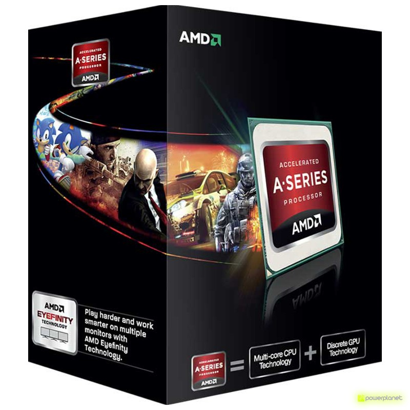 AMD A series A8-6600K - Item