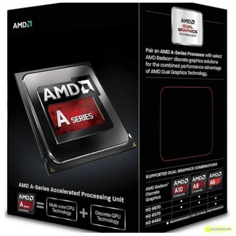 AMD A series A6-6400K - Item