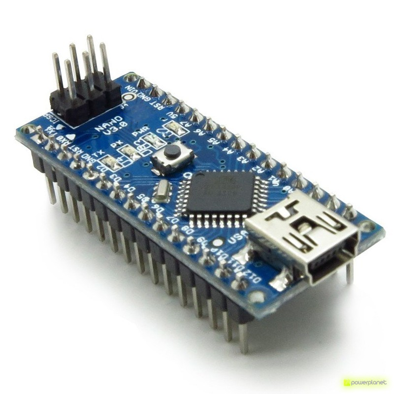 Microcontrolador ATMega328P con cable USB - Item4