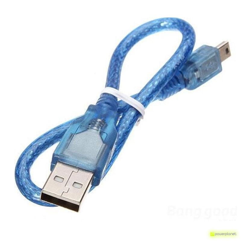 Microcontrolador ATMega328P con cable USB - Item1