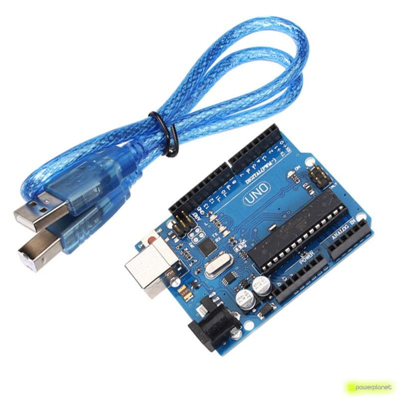 Placa Uno ATmega328P R3 Compatible con Arduino