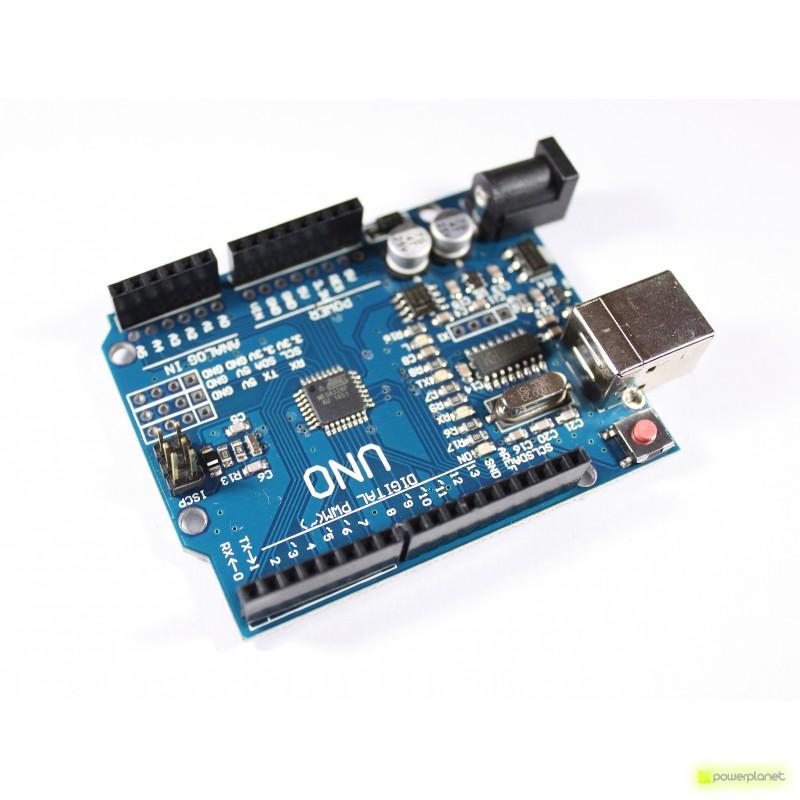 Placa Uno ATmega328P R3 Compatible con Arduino - Ítem3