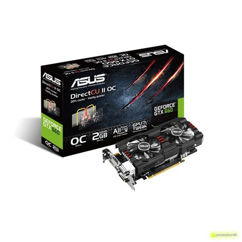 ASUS PCI-E N GTX660-DC2OCPH-2GD5