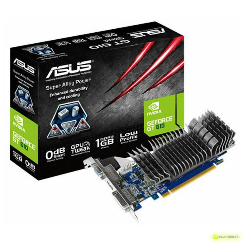 ASUS PCI-E N GeForce GT 610 1GB - Ítem