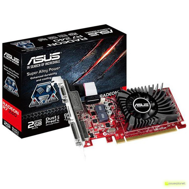 ASUS PCI-E A R7240-2GD3-L - Item