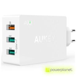 AUKEY PA-T2 Cargador de 3 Puertos USB - Ítem1