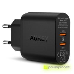 AUKEY PA-T7 Cargador de 2 Puertos USB Quick Chargue - Ítem1