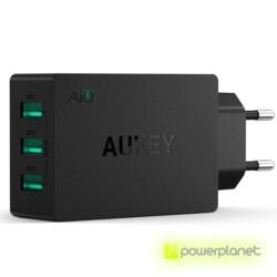 AUKEY PA-U35 Cargador de 3 Puertos USB / 6A - Ítem1