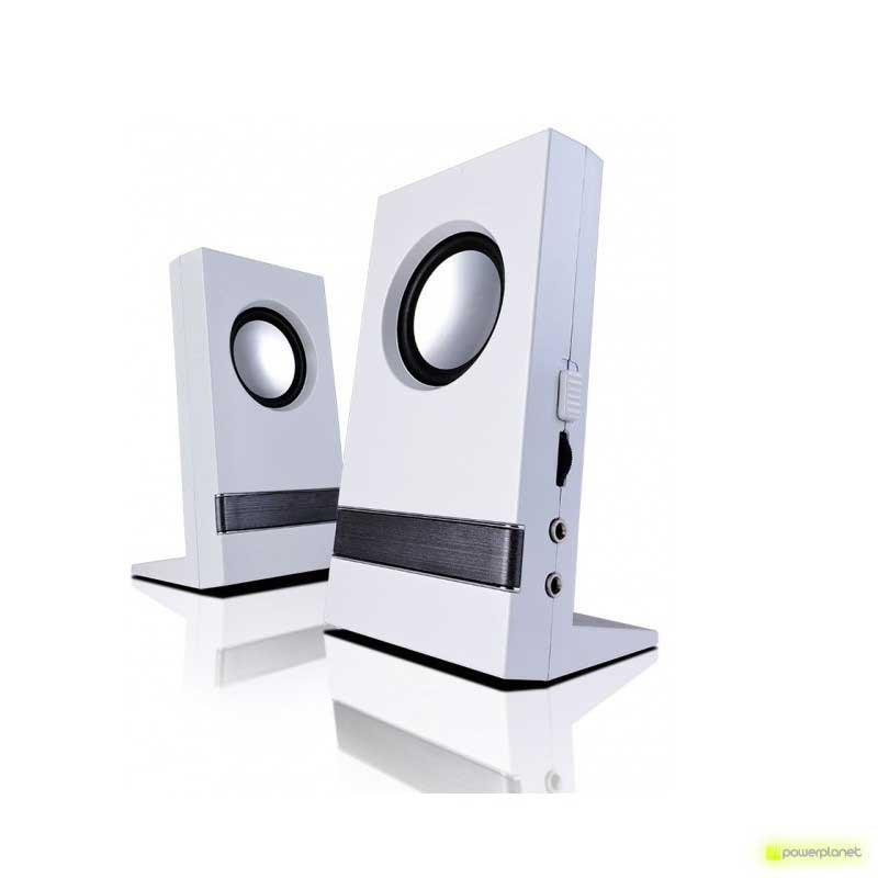Altavoces B-MOVE 2.0 B-BLAST 200 Blanco - Item