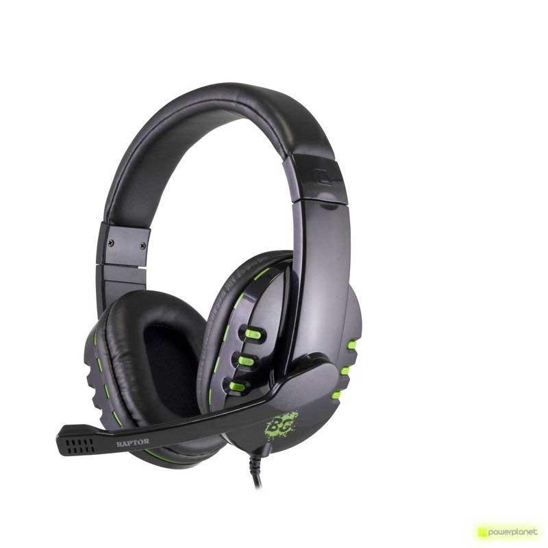 Auricular Gaming BG Raptor Negro Estéreo