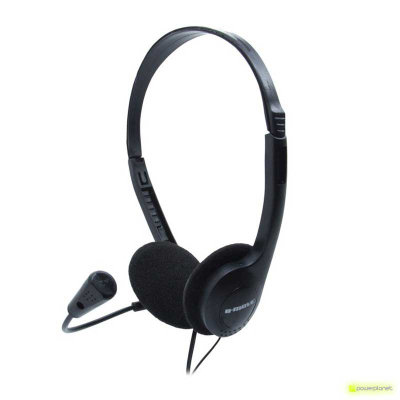 Auriculares B-MOVE SoundOne Micrófono Ultra Ligero