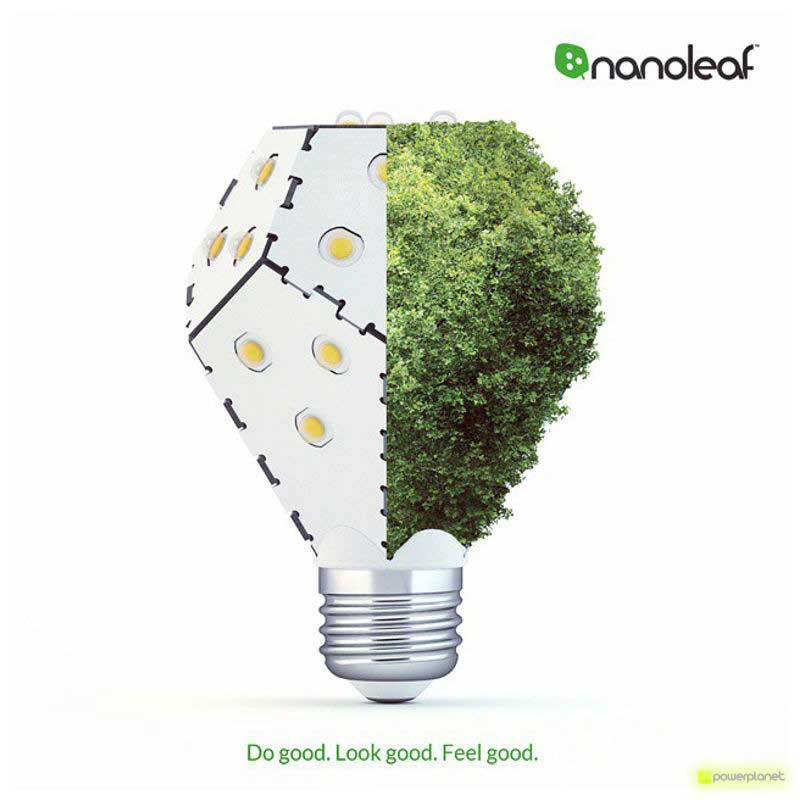 Nano Leaf Bloom 1200 Lumens E27 - Ítem3