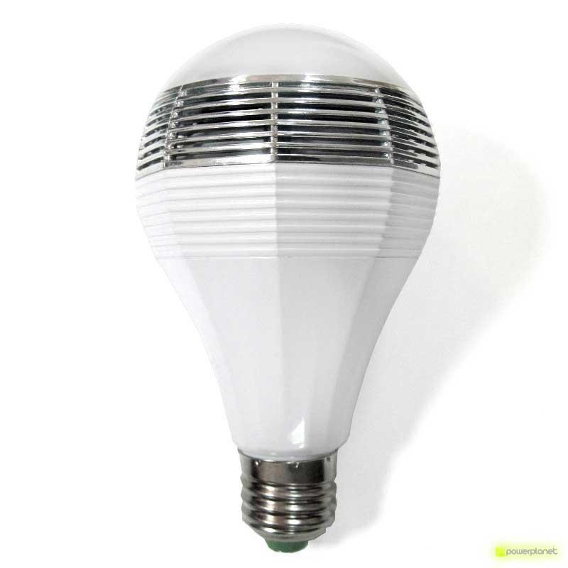 bombilla LED con música, bombilla luz de colores y música, bombilla playbulb, comprar bombilla musical, comprar bombilla led con sonido, comprar bombilla con sonido, bombilla de colores, comprar playbulb bluetooth
