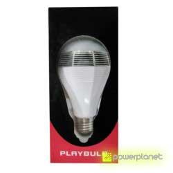 bombilla LED con música, bombilla luz de colores y música, bombilla playbulb, comprar bombilla musical, comprar bombilla led con sonido, comprar bombilla con sonido, bombilla de colores, comprar playbulb bluetooth - Ítem3